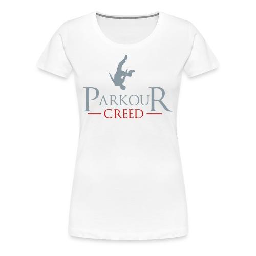 Parkour Creed - Women's Premium T-Shirt