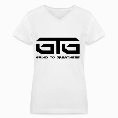 GTG CLASSIC - V-Neck T-shirt - Women's V-Neck T-Shirt