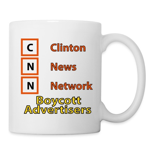CNN Boycott Mug - Coffee/Tea Mug