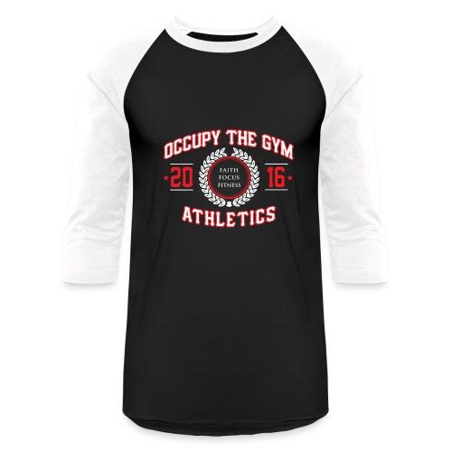 Occupy The Gym™ Baseball Tee - Baseball T-Shirt