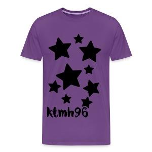 Men's Purple Star Shirt - Men's Premium T-Shirt