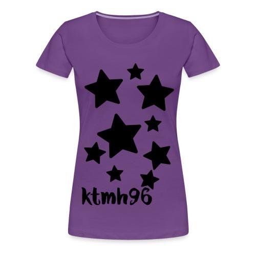 Women's Purple T-shirt - Women's Premium T-Shirt