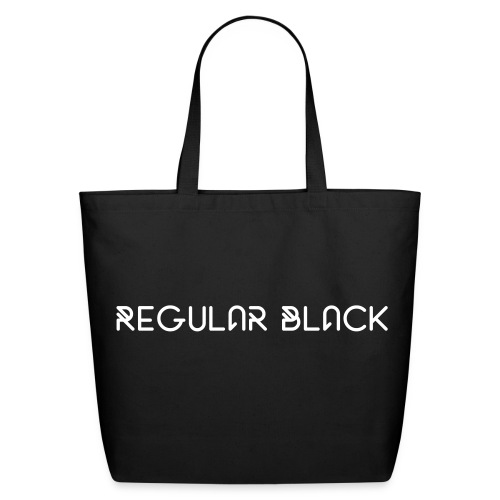 Regular Black Cotton Tote Bag - Eco-Friendly Cotton Tote