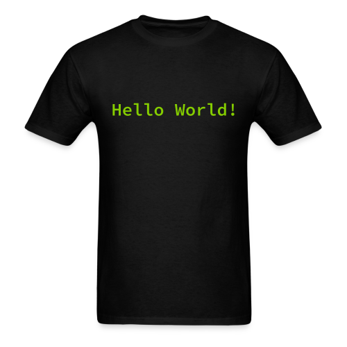 Hello World! - Men's T-Shirt