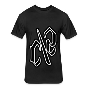 C/S t-Shirts  - Fitted Cotton/Poly T-Shirt by Next Level