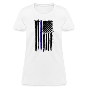 Blue Lives Matter - Women's T-Shirt