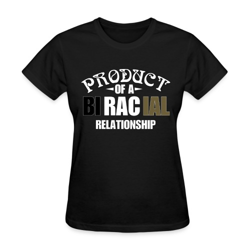 BiRacial Relationship - Women's T-Shirt