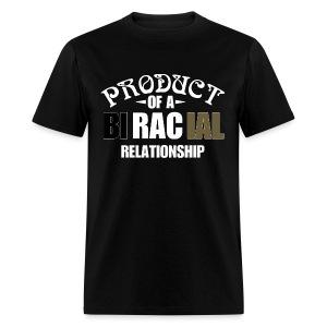 BiRacial Relationship - Men's T-Shirt