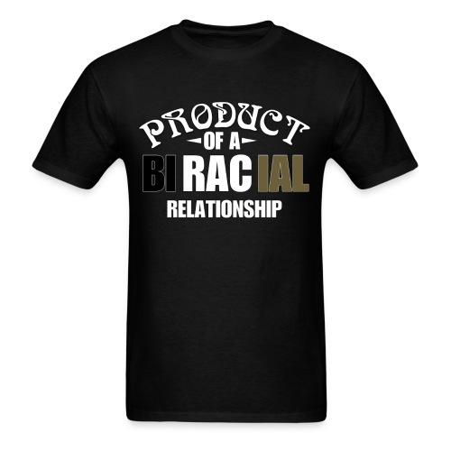 BiRacial Relationship - Men's T-Shirt