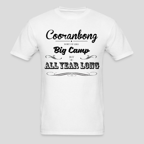 Cooranbong Is Like Camp Mens - Men's T-Shirt