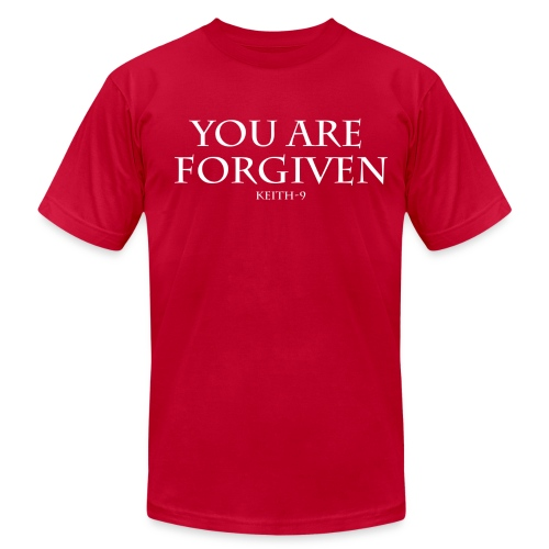Keith-9 You are Forgiven - Men's Fine Jersey T-Shirt