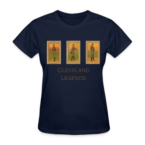 1900's Cleveland Baseball Legends Women's T-Shirt - Women's T-Shirt