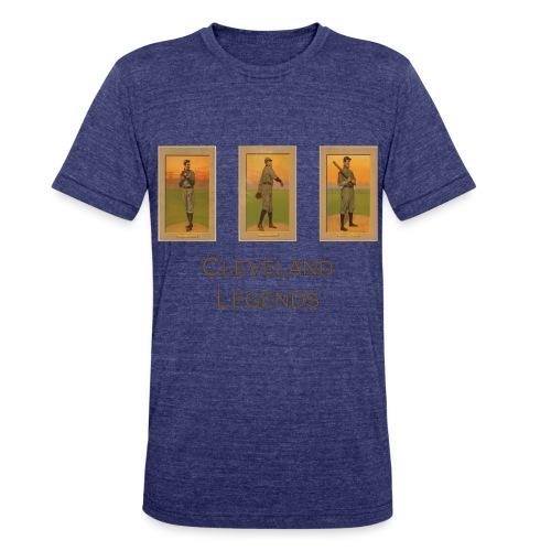 1900's Cleveland Baseball Legends Unisex Tri-Blend T-Shirt - Unisex Tri-Blend T-Shirt
