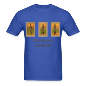 1900's Cleveland Baseball Legends Men's T-Shirt - Men's T-Shirt