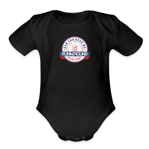 Baby Chase You Down One Piece - Organic Short Sleeve Baby Bodysuit