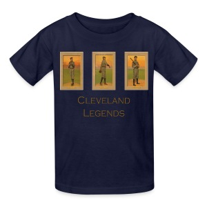 1900's Cleveland Baseball Legends Kids' T-Shirt - Kids' T-Shirt