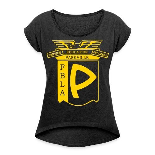 Gold Standard Womens Tee - Women's Roll Cuff T-Shirt