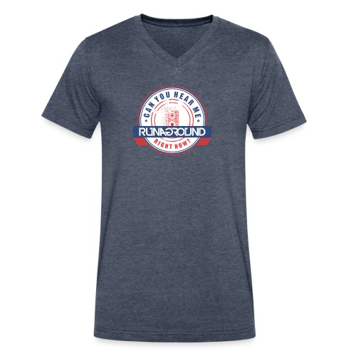 ChaseYouDown Mens V-Neck - Men's V-Neck T-Shirt by Canvas