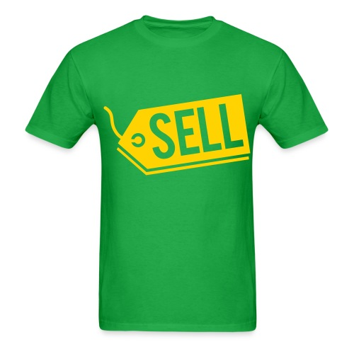 Sell! Kelly green tee (men's) - Men's T-Shirt