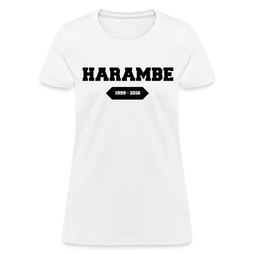 RIP Harambe - Women's T-Shirt