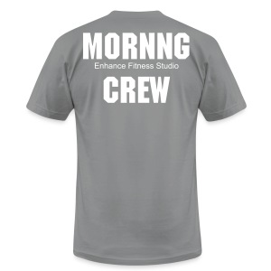 morning crew - Men's T-Shirt by American Apparel