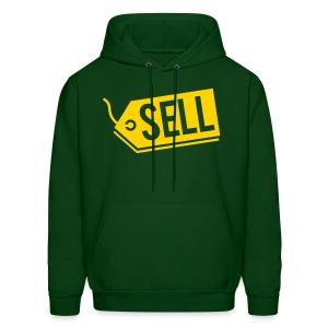 Sell! Forest Green Hoodie (Men's) - Men's Hoodie