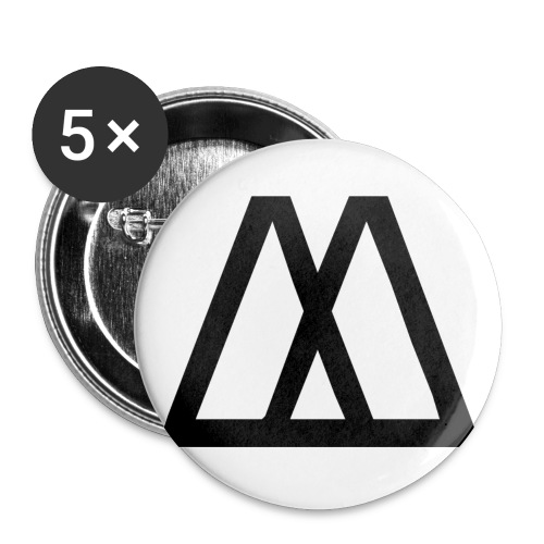 Metaphors M large buttons (5) - Buttons large 2.2'' (5-pack)