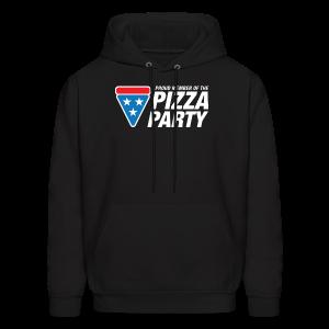 Pizza Party Men's Hoodie - Men's Hoodie