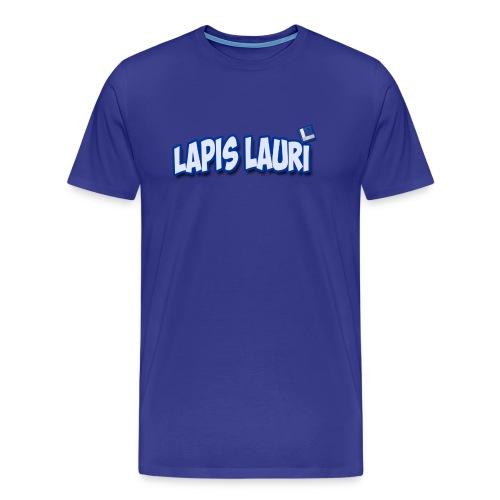 Men's Lapis Lauri  Badge on Front T - Men's Premium T-Shirt