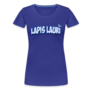 Ladies Lapis Lauri  Badge on Front T - Women's Premium T-Shirt