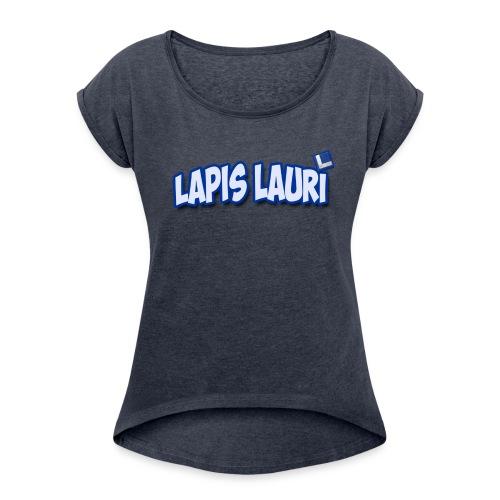 Ladies Lapis Lauri Boxy T - Women's Roll Cuff T-Shirt