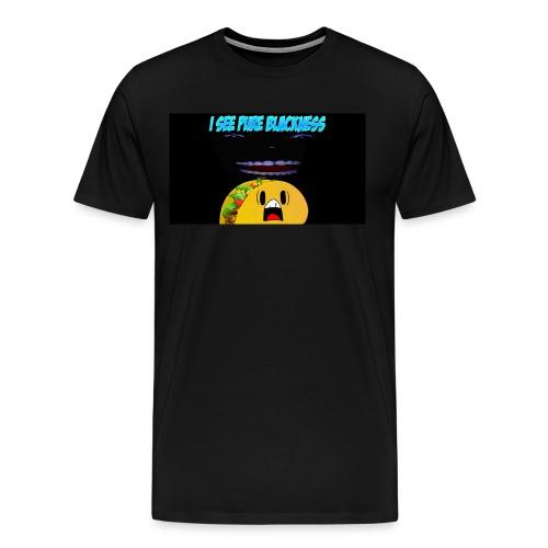 I see pure blackness - Men's Premium T-Shirt