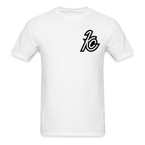 Kevin Co logo Tee (Name on back)  - Men's T-Shirt