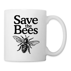 Save the Bees Mug - Coffee/Tea Mug