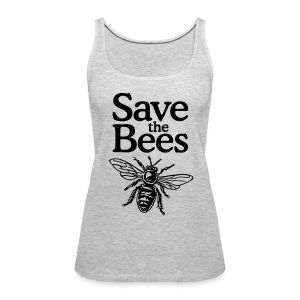 Save the Bees Tank Top - Women's Premium Tank Top