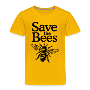 Save the Bees Toddler T-Shirt - Toddler Premium T-Shirt