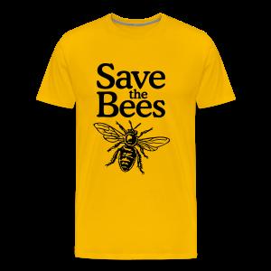 Save the Bees S-5X T-Shirt - Men's Premium T-Shirt