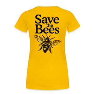 Save the Bees S-3X T-Shirt - Women's Premium T-Shirt