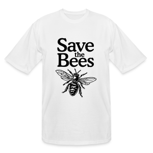 Save the Bees Tall T-Shirt - Men's Tall T-Shirt