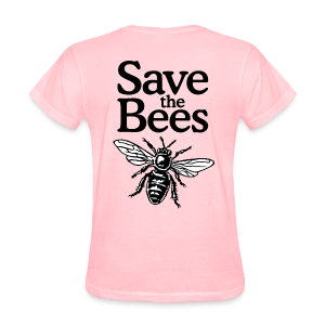 Save The Bees (bicolor) T-Shirt - Women's T-Shirt