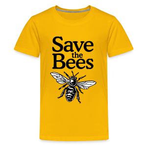 Save The Bees (bicolor) Kid's T-Shirt - Kids' Premium T-Shirt