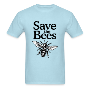 Save The Bees (bicolor) T-Shirt - Men's T-Shirt