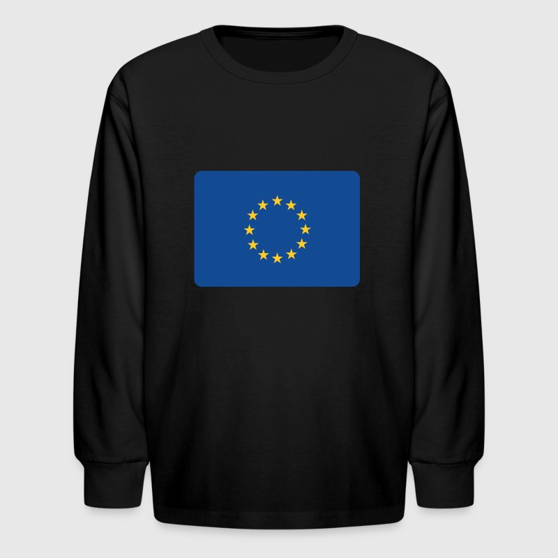 EUROPE IS TIGHT, MAN! Kids' Shirts - Kids' Long Sleeve T-Shirt