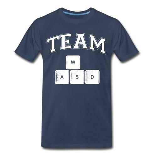 Team WASD Tee - Men's Premium T-Shirt