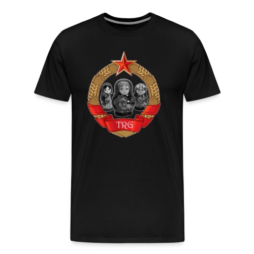 The Russian Gang  - Men's Premium T-Shirt