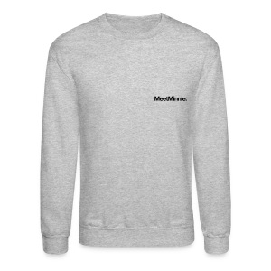 MeetMinnie small logo sweatshirt | heather grey - Crewneck Sweatshirt