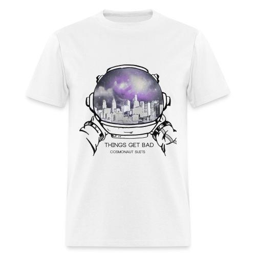 Things Get Bad Album Cover Men's T-Shirt - Cosmonaut Suits - Men's T-Shirt
