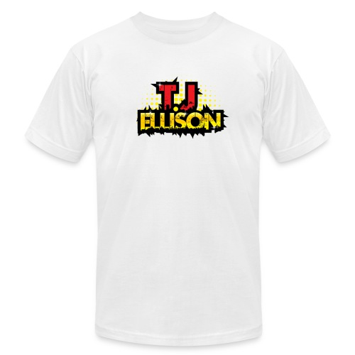 T.J. ELLISON® (Men) Logo T-Shirt (White) - Men's Fine Jersey T-Shirt