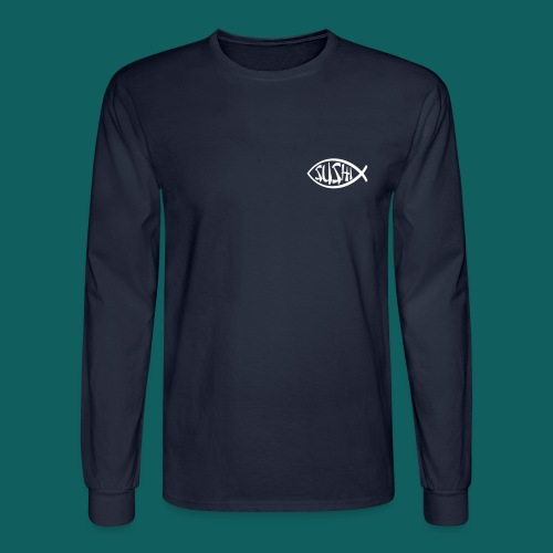 Sushi Long-Sleeve Tee - Men's Long Sleeve T-Shirt