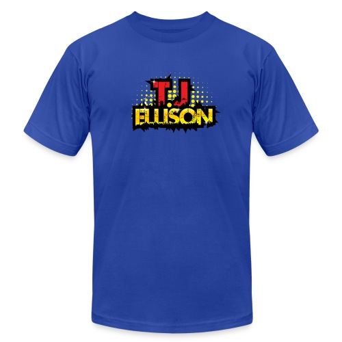 T.J. ELLISON® (Men) Logo T-Shirt (Royal Blue) - Men's Fine Jersey T-Shirt